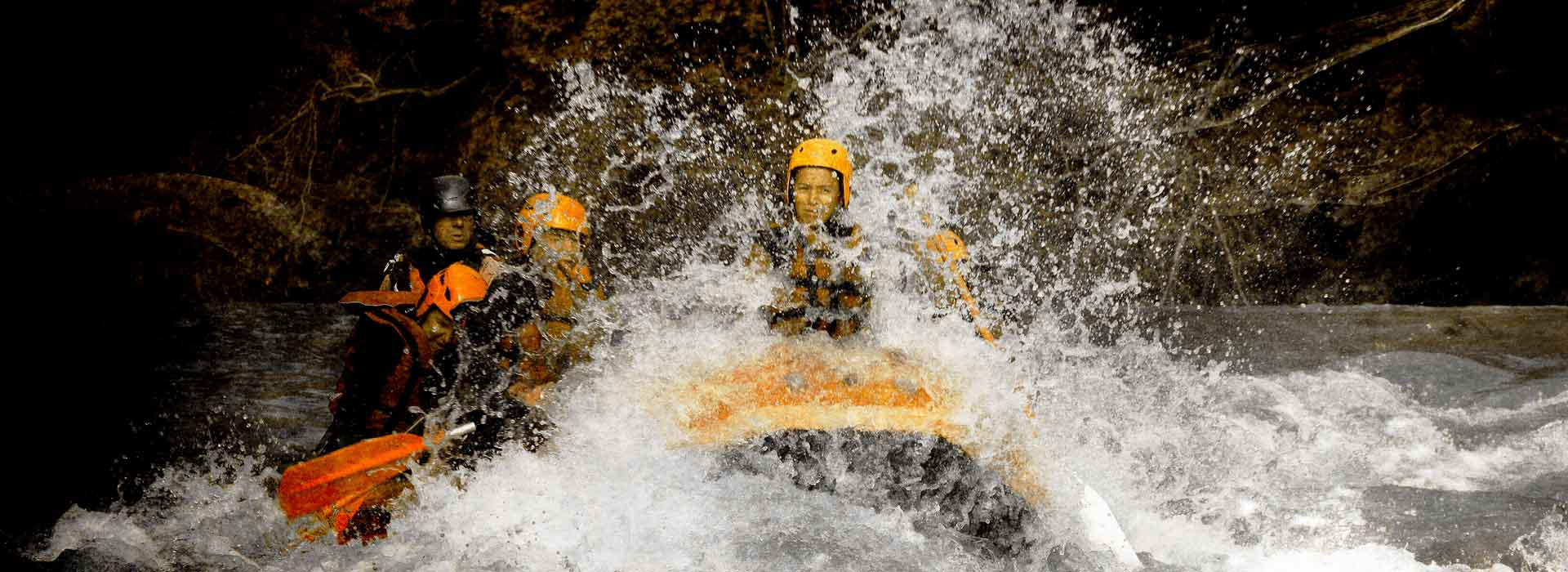 Rafting in Savoie, white water base Bourg-Saint-Maurice