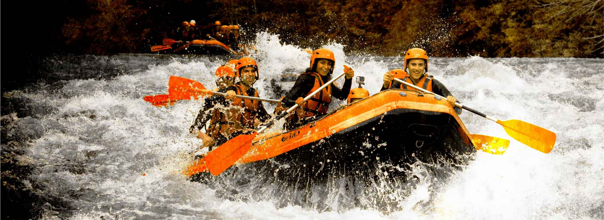 Full day rafting in Savoie, white water base Bourg-Saint-Maurice