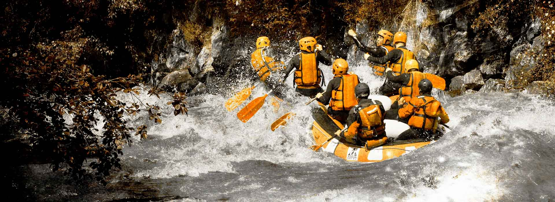 White Water weekend in Val d'Aoste