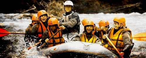 Rafting Bourg-St-Maurice with children or family